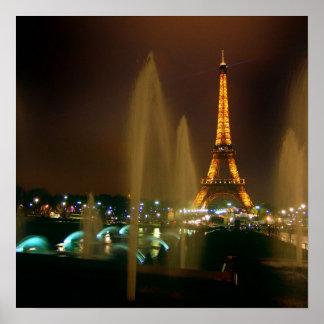 Impresión de París Póster