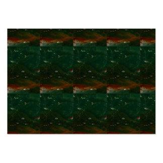 Impresión de piedra cristalina del fondo de la chi plantilla de tarjeta personal