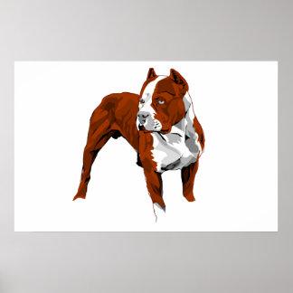 Impresión de Pitbull Impresiones