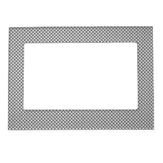 Impresión de plata del estilo de la fibra de marcos magneticos de fotos