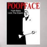 Impresión de Poopface Impresiones