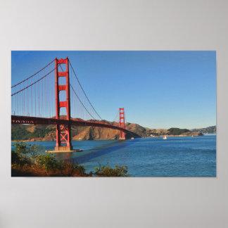 Impresión de puente Golden Gate Póster