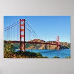 Impresión de puente Golden Gate Posters