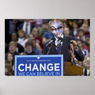 Impresión de Revelation* de los *Obama Póster