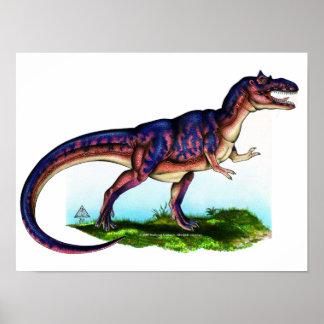 Impresión de Rex del Tyrannosaurus Póster