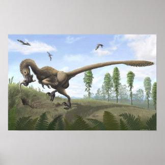 Impresión de Saurornitholestes Poster