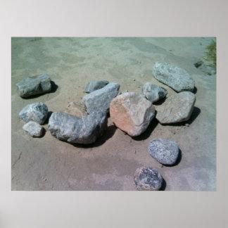 Impresión de Scape de la roca Impresiones