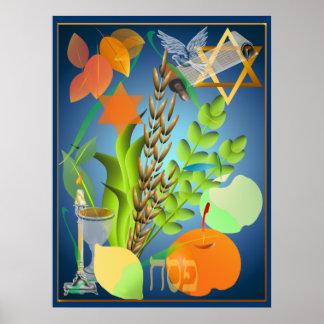 Impresión de Seder del Passover Póster