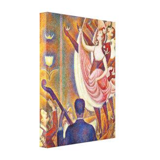 Impresión de Seurat Le Chahut Canvas Impresiones En Lona Estiradas