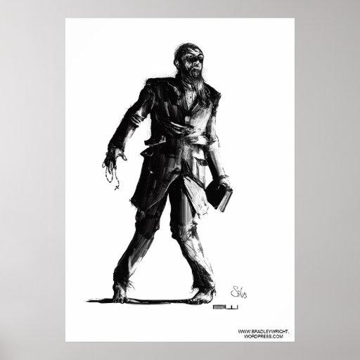 Impresión de Silus del predicador Poster