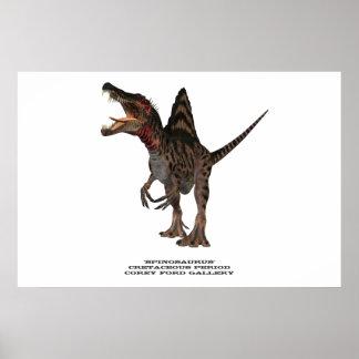 Impresión de Spinosaurus 01 Poster