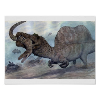 Impresión de Spinosaurus Póster