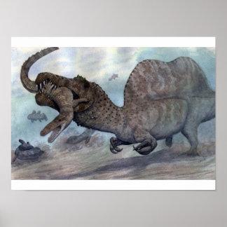 Impresión de Spinosaurus Poster