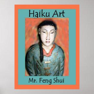 Impresión de Sr. Feng Shui Haiku Art Póster