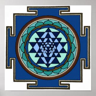 Impresión de Sri Yantra Impresiones