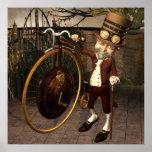 Impresión de Steampunk del comino del penique Posters