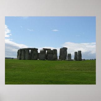 Impresión de Stonehenge Póster