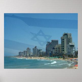 Impresión de Tel Aviv Póster