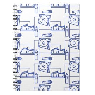 Impresión de The_ Blue_ Cuaderno