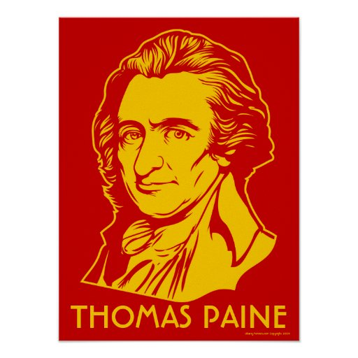Impresión de Thomas Paine Poster