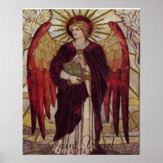 Impresión de Uriel del santo Posters