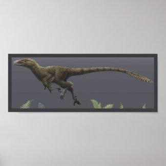 Impresión de Utahraptor Póster