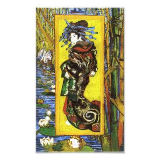 Impresión de Van Gogh Japonaiserie Oiran Fotos