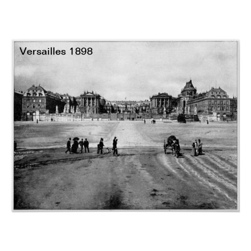 Impresión de Versalles 1898 Poster