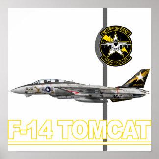 Impresión de VF-33 Starfighters Póster