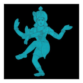 Impresión de Vishnu Poster