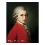 Impresión de Wolfgang Amadeus Mozart Impresiones
