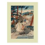 Impresión de Woodblock de Elizabeth Keith Tarjetas Postales