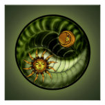 Impresión de Yin Yang del Día de la Tierra Impresiones