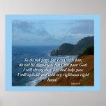 Impresión del 41:10 de Isaías del faro del océano Impresiones