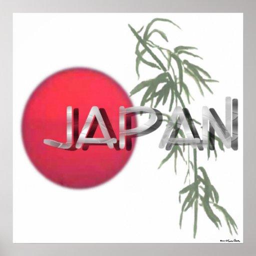 Impresión del alivio de Japón Impresiones