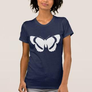 Impresión del almirante blanco mariposa playera