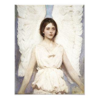 Impresión del ángel de Abbott Handerson Thayer Foto