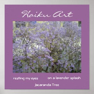 Impresión del árbol del Jacaranda Posters