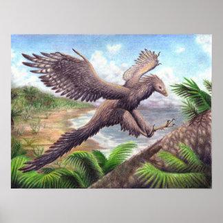 Impresión del Archaeopteryx Impresiones