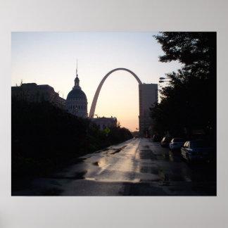 Impresión del arco de St. Louis Impresiones