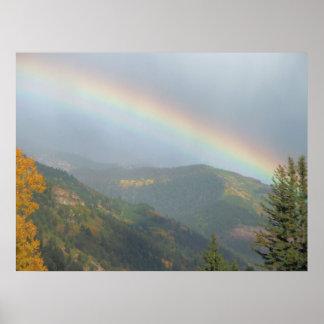 Impresión del arco iris del telururo