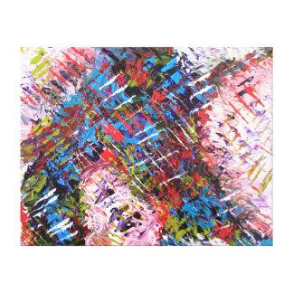 Impresión del arte abstracto - los años 90 Hip Hop Impresión En Tela