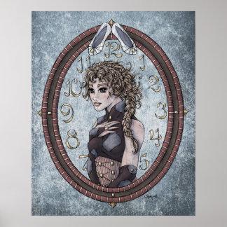 """Impresión del arte de 16x20 de """"Cenicienta"""" del cu Poster"""