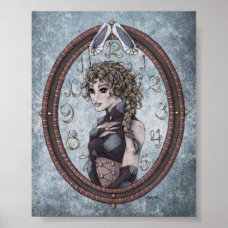 """Impresión del arte de 4x5 de """"Cenicienta"""" del cuen Poster"""
