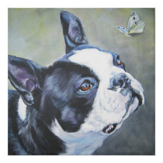 Impresión del arte de Boston Terrier Impresiones