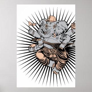 Impresión del arte de Ganesh Posters