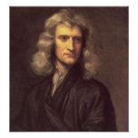 Impresión del arte de Isaac Newton Posters