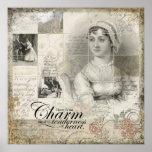 Impresión del arte de Jane Austen Impresiones