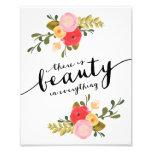 Impresión del arte de la belleza el | fotografia