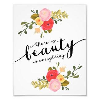 Impresión del arte de la belleza el   fotografia